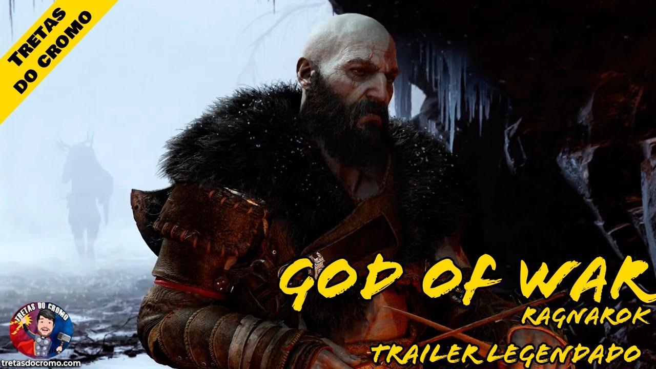 God of War: Ragnarok ganha novo trailer épico!!