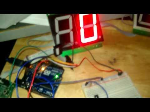 7 segment big LED display YourITronics