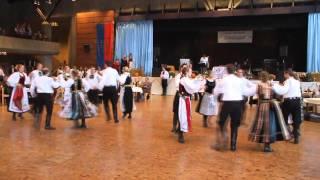 Siebenbürgische Tanzgruppe Stuttgart beim SJD Volkstanzwettbewerb 2010