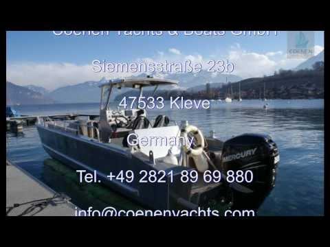 Coenen Yachts & Boats CLC 800 Landungsboot