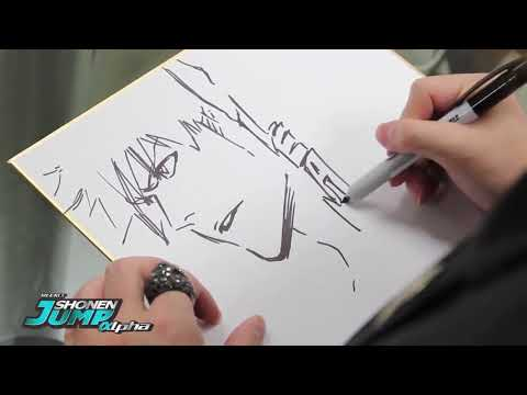 TOP11 Famous Mangaka drawing