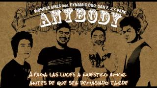 Anybody ft. Dynamic Duo, SanE & JYPark - Wonder Girls (subs español)