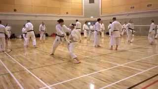 JKA Windsor Spring Camp 2014 25. - 27. april in Windsor Leisure Cen...