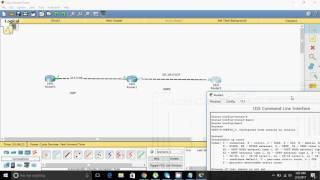 Redistribution of EIGRP into OSPF --- OSPF into EIGRP