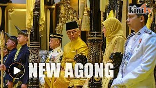 Sultan of Pahang elected as new Agong