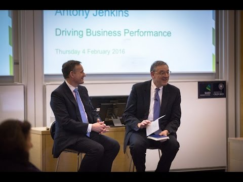Antony Jenkins: Driving business performance