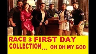 1st day collection of race 3