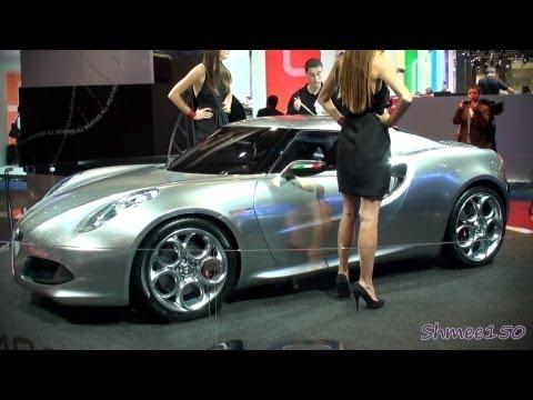 Alfa Romeo 4C 'Fluid Metal' - Frankfurt IAA Motorshow 2011