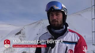 Snowboard Cross'ta PyeongChang 2018'e Gidecek Sporcular Ezurum'da Belirlendi