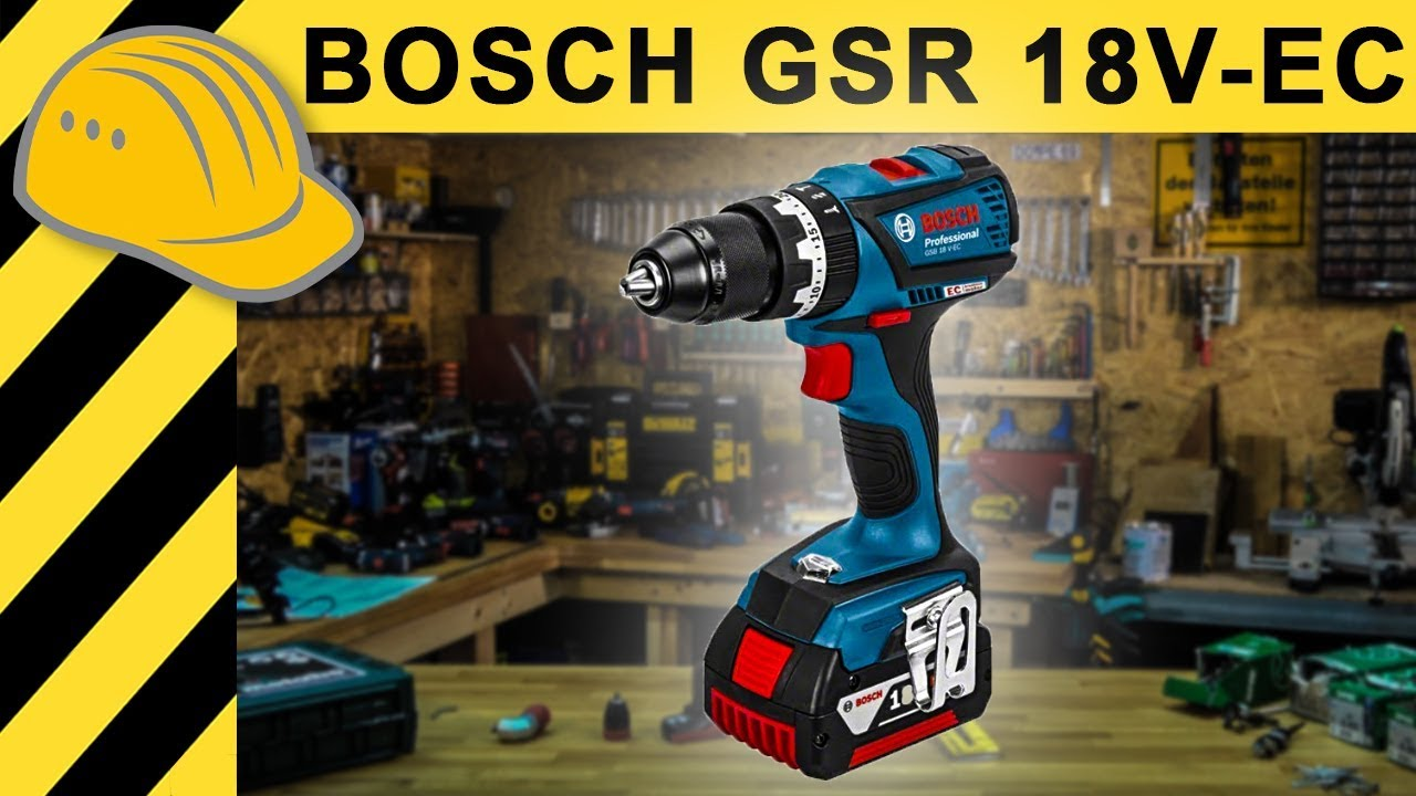 bester akkuschrauber unter 200 bosch gsr 18 v ec test. Black Bedroom Furniture Sets. Home Design Ideas