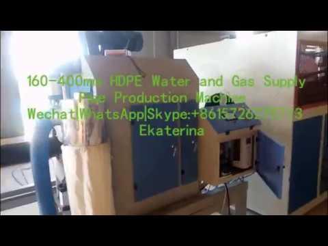 160-400 HDPE Three Layers Water Supply Pipe Production Machinery|Making Machine