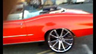 For Sale: 1972 Buick Skylark Custom Convertible 24 inch rims Quick Walk Around