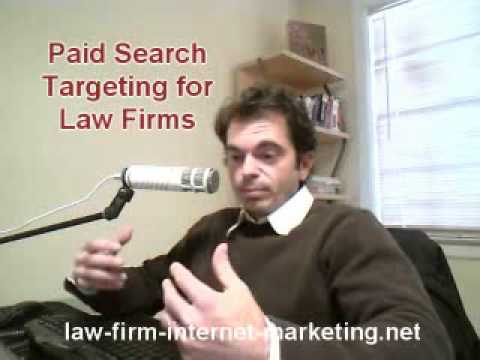 Better Attorney Search Engine Marketing Results with Targeting