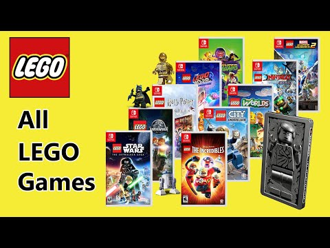 All LEGO games NINTENDO Switch (Trailer - Reviews - Gameplay)