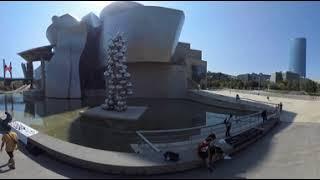 Guggenheim Bilbao Spider and Bridge 360º