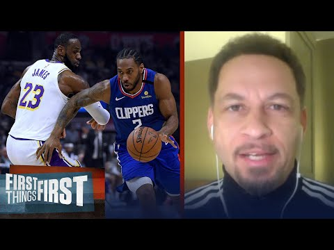 New Playoff Format Could Mean Lakers Vs Clippers Final — Chris Broussard | NBA | FIRST THINGS FIRST