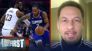New playoff format could mean Lakers vs Clippers final - Chris Broussard | NBA | FIRST THINGS FIRST
