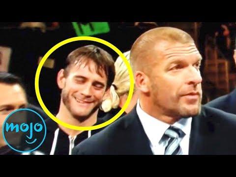 Top 10 Times WWE Wrestlers Broke Character