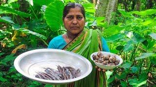 Village Life: Stinging Catfish with Taro Village Cooking Recipe by Village Food Life