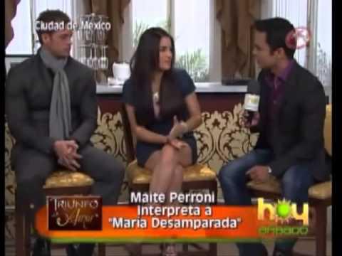 Maite Perroni y William Levy HOY SABADO TDA