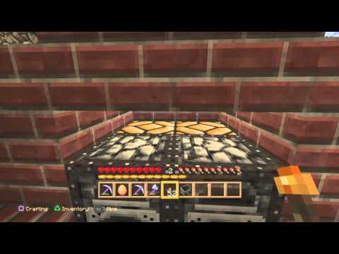 Minecraft PS4 - Simple Brick Barbeque Design [0198]