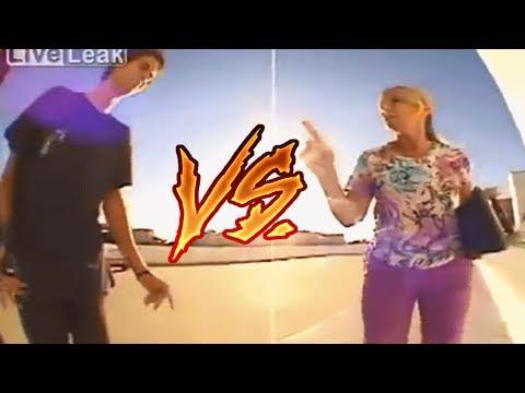 SE F#DEU!!! - SKATISTA VS PESSOAS (retardadas)