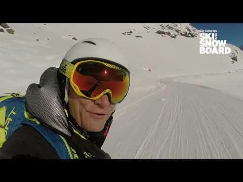 Graham Bell skis the Steilste, one of Switzerland's greatest ski runs
