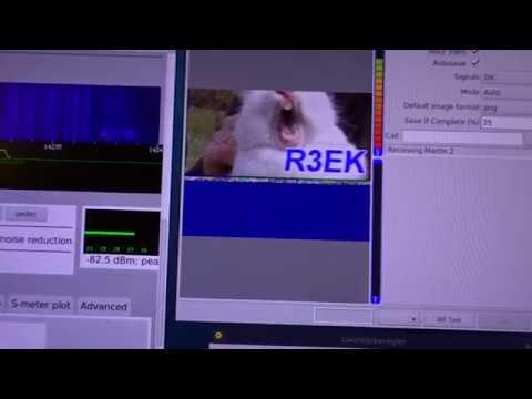 SSTV (Funk-Bilder) Empfangen Mit Optiplex GX520 Und MX Linux