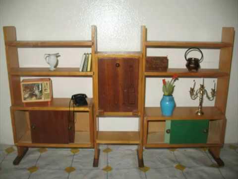 Salotto in velluto granata libreria mobile bar per - Mobile bar anni 70 ...