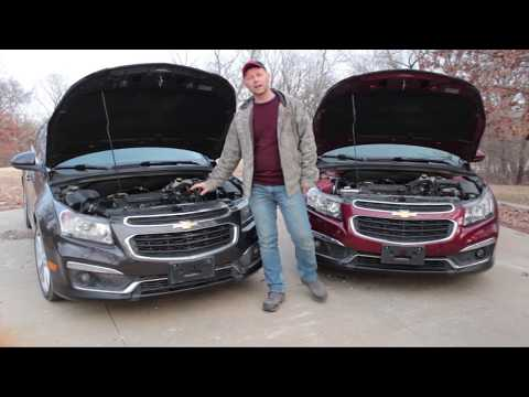 Race 2015 Chevy Cruze Ltz RS With Air Intake VS 2015 Ltz RS With Out Air Intake!