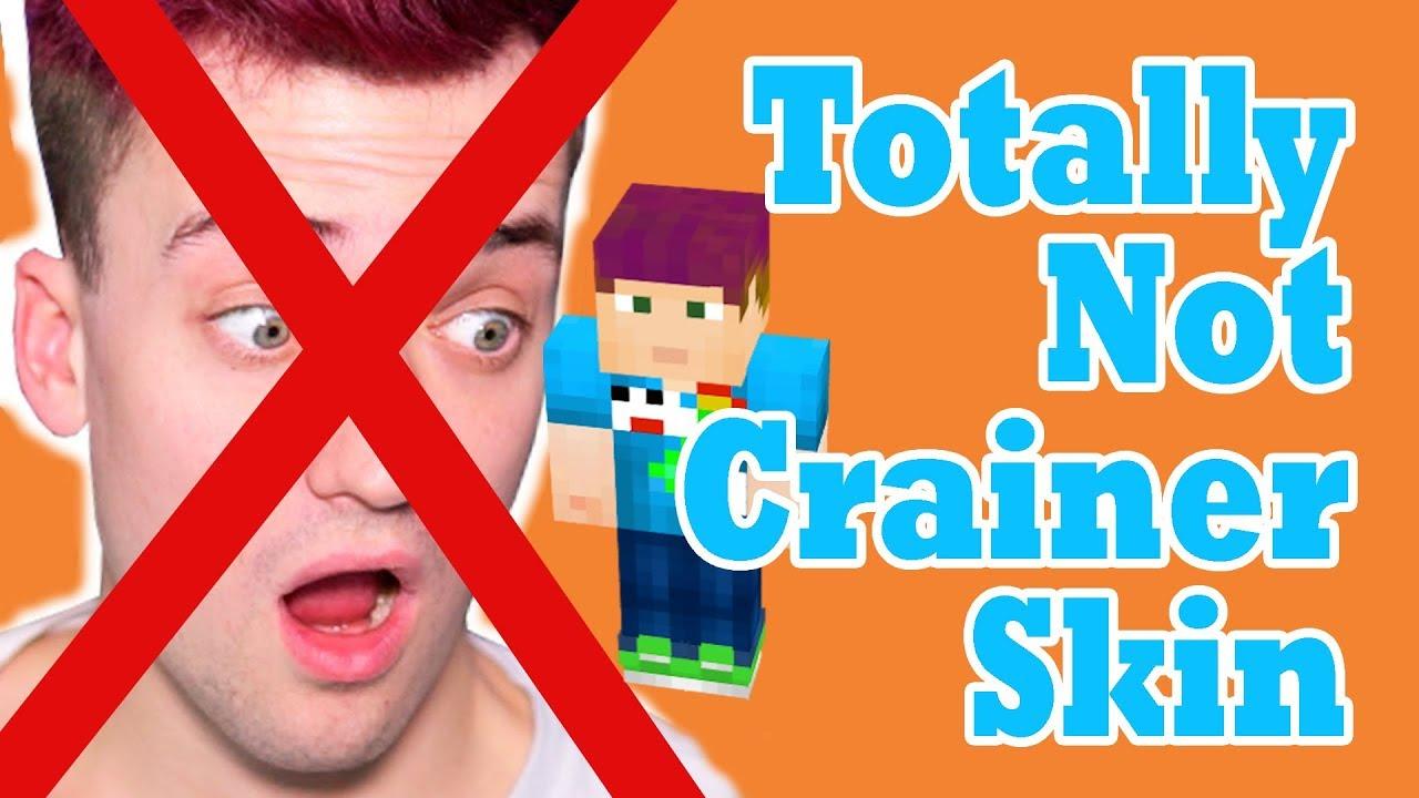 "Totally Not Crainer Skin "" NOT CLICKBAIT "" ( Minecraft skin Editor"