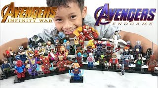 All Lego Avengers Endgame and Infinity War Unofficial Minifigure Big Figure