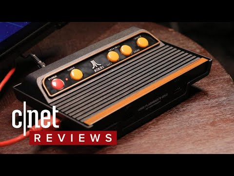 Playing old Atari games in HD isn't as great as you think