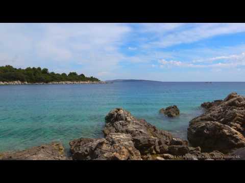 Croatian Adriatic Sea * 20 minutes relaxing 4K video - island of RAB