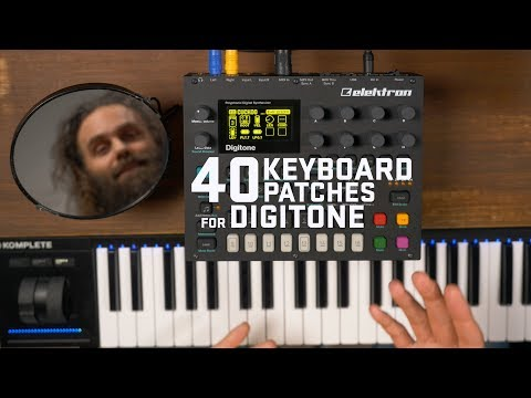 40 Digitone Keyboard Patches - Cuckoo Pack 1