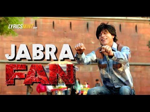 Jabra FAN Anthem Song | Shah Rukh Khan |...