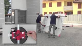 Superstick, systém na manipulaci s velkoformátovými dlaždicemi