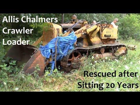 Allis Chalmers Crawler Loader Rescue Mission