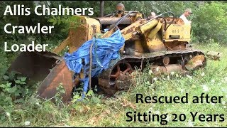 Allis Chalmers Crawler Loader Rescue Mission
