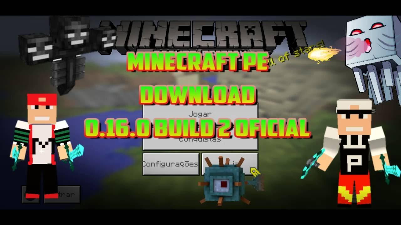Скачать minecraft 0 16 0 build 2