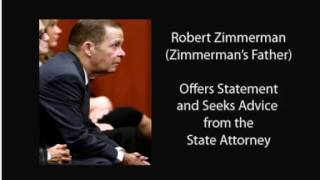 George Zimmerman Wife And Robert Zimmerman Sr  Somebody is lieing