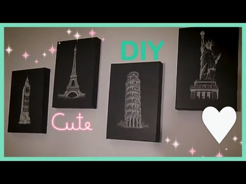 How To Chic Room Decor (DIY $3.20)