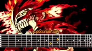Bleach Opening Uverworld D tecnolife Guitar Cover