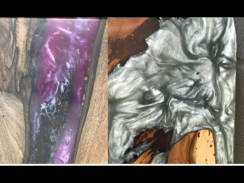 Epoxy Resin Pigments and Colouring tips