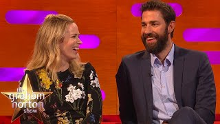 Emily Blunt & John Krasinski In A Quiet Place! | The Graham Norton Show