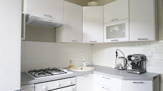 КУХНЯ В ХРУЩЕВКЕ || Минимализм на кухне 5 кв.м.