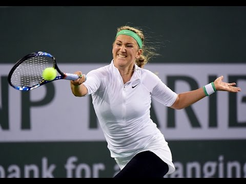 2016 BNP Paribas Open Semifinal | Victoria Azarenka vs Karolina Pliskova | WTA Highlights