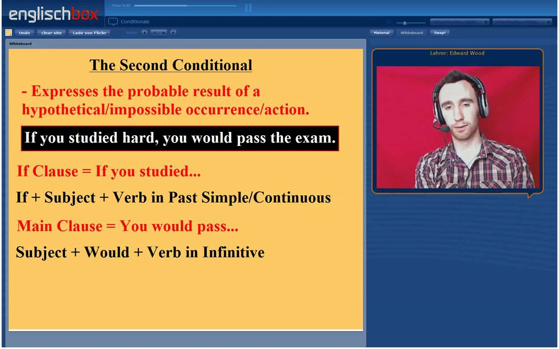 Conditionals First Second And Third Conditional