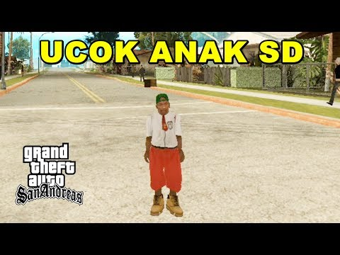 UCOK JADI ANAK SD - GTA Lucu Indonesia Mod