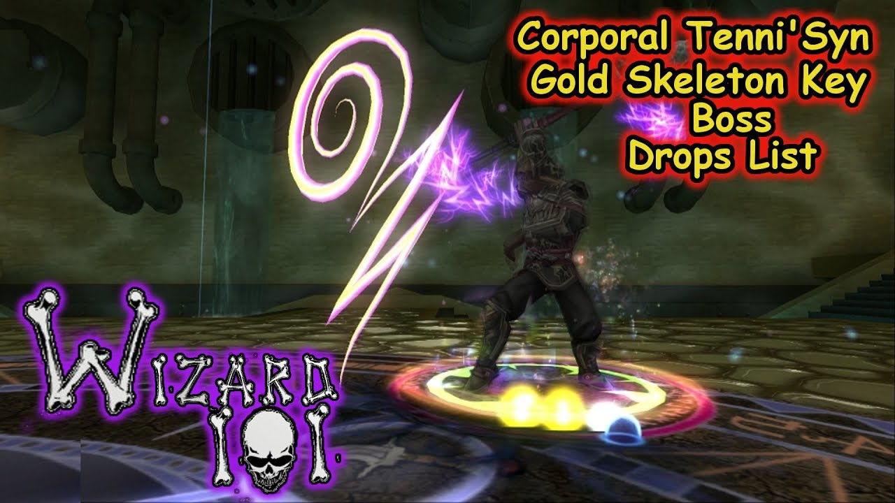Wizard101 Tenni'Syn NEW Gold Key Boss Drops List - Is It WORTH It??